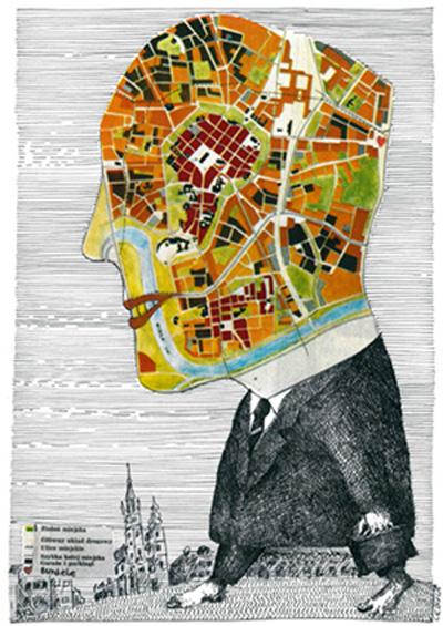 Nagroda specjalna SPAK - rys. Henryk Cebula / Polska