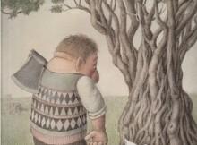 """Izabela Kowalska-Wieczorek - First Prize 3th International """"Olive"""" Cartoon Contest 2014"""