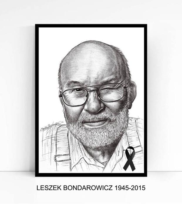 LESZEK BONDAROWICZ 1945-2015 Portrait of my Father Art by Marcin Bondarowicz