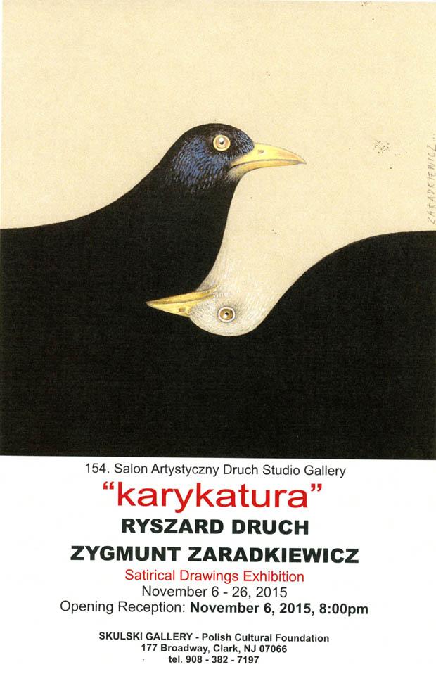 Plakat wystawy - rys. Zygmunt Zaradkiewicz