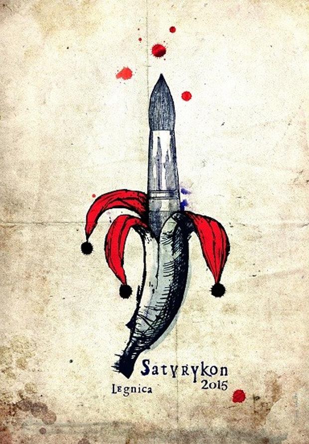 Plakat Satyrykon 2015 - autor rRyszard Kaja