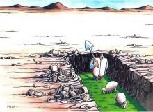 "Cartoon Contest ""The 70th Anniversary of the UN"" - First Prize: Musa Gumus / Turkey"