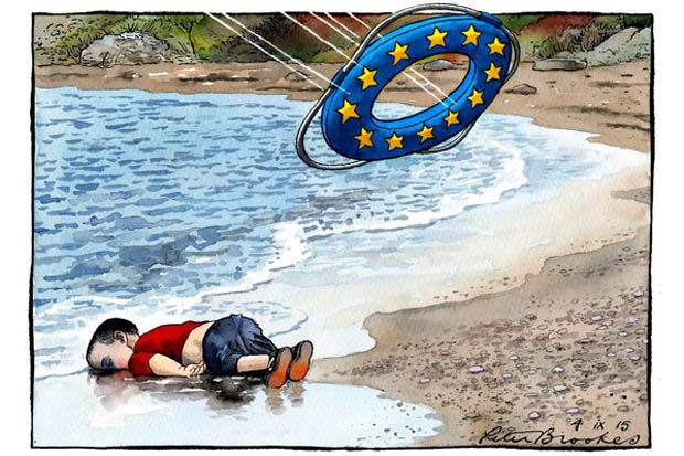 Political Cartoon of the Year 2015 – Peter Brookes, The Times