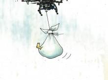 6th International, City & Citizen, Cartoon Contest - 3rd Prize: Luc Descheemaeker, Belgium