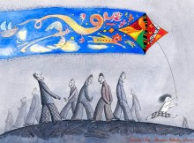 """Cartoo'n'Kite"" International Competition of Satirical Design / Italy - Alexander Yakovlev (Russia) - First prize"