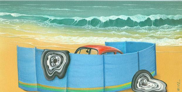 11th International Zagreb Car Cartoon Exhibit: First Prize - Zygmunt Zaradkiewicz / Poland