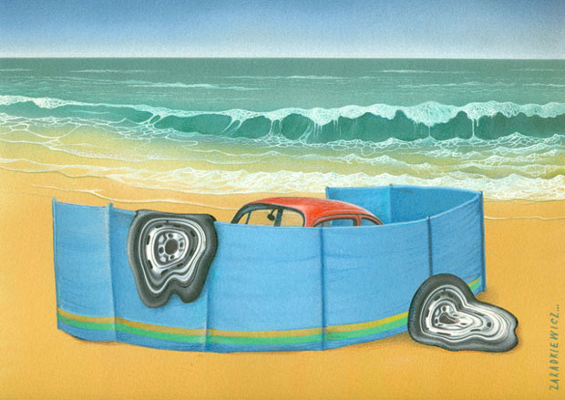 11th International Zagreb Car Cartoon Exhibit: First Prize - Zygmunt Zaradkiewicz / Poland