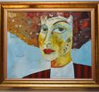 LADY L - obraz olejny Mirosława Hajnosa