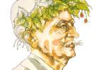 Portret poety autorstwa Zbigniewa Kołaczka został wykorzystany na zaproszeniu i plakacie wystawy
