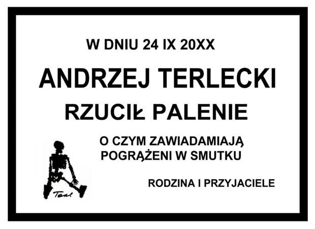 Rys. Andrzej Terlecki