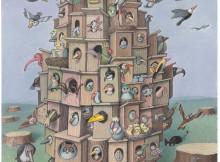 7th Sejong International Cartoon Contest SICACO 2018 - Grand Prize: Izenela Kowalska-Wieczorek / Poland