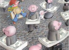 """The Dictature of Money"" Excelence Prize - Izabela Kowalska-Wieczorek / Poland"