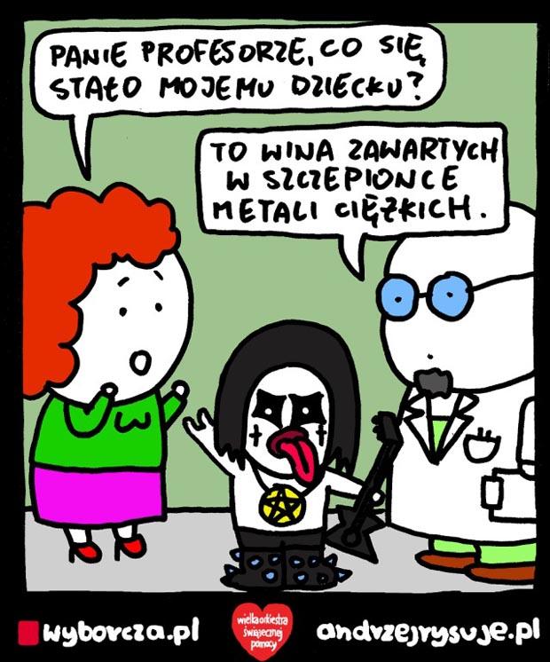 Rys. Andrzej Milewski - Andrzej Rysuje