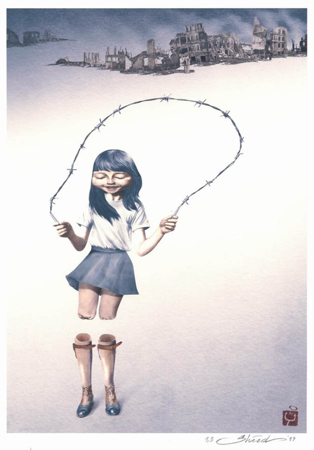 36th Aydin Dogan International Cartoon Competition 2019 - Second Prize: Shahrokh Heidari / Iran