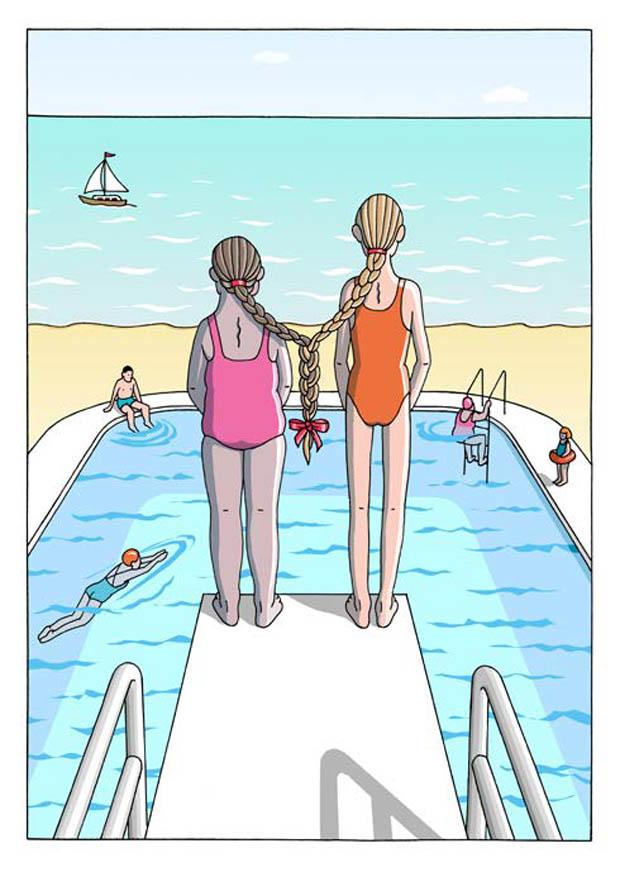 Cartoonfestival Rotterdam 2019 First Prize: Anneke Van Steijin - Netherland