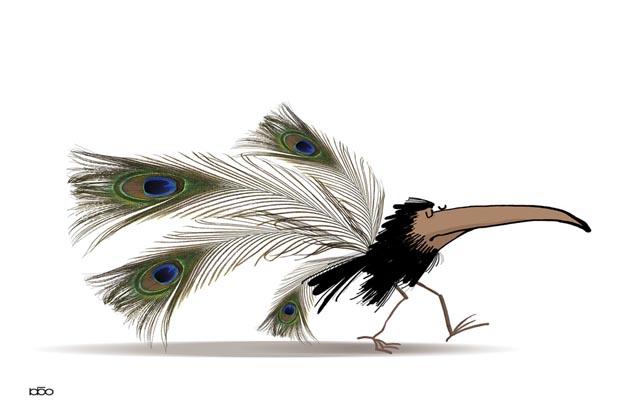 7th International Cartoon Contest Sinaloa 2019, México - First Prize: Alireza Karimi Moghaddam - Iran