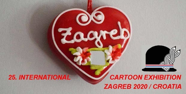 cartoon exhibition ZAGREB 2020