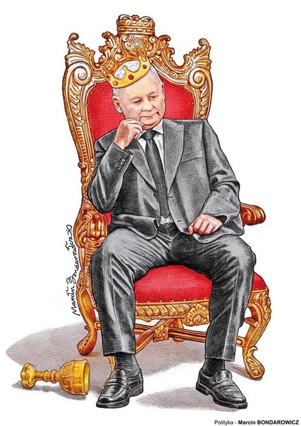 Ogólnopolski Konkurs na rysunek prasowy im. Aleksandra Wołosa - Nagroda Honorowa: Marcin Bondarowicz