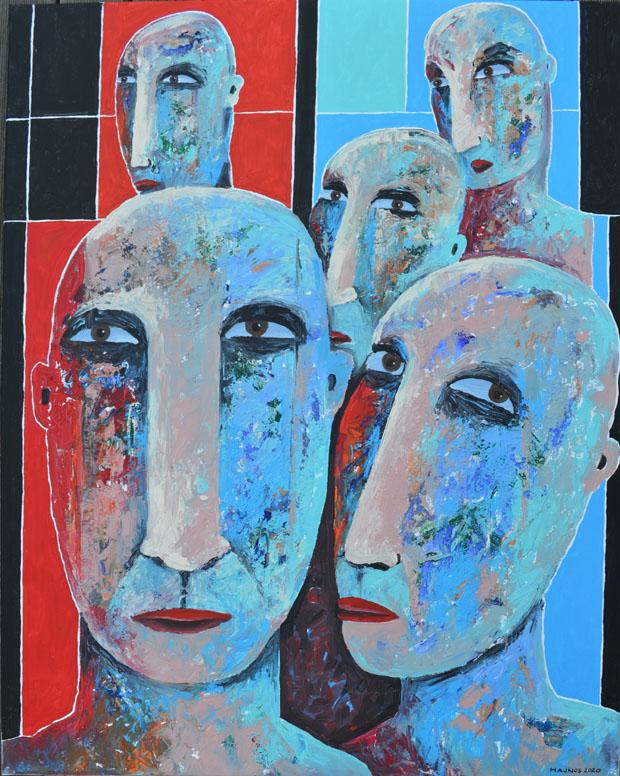 Miroslaw HAJNOS - Masks XL-V