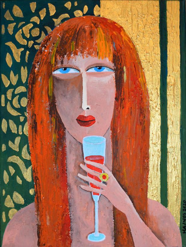 Mirosłąw Hajnos - Czerwone wino