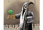 Third International Cartoon Contest Cartoonmag.com - Miroslaw Hajnos, Poland - Cartoonmag Prize
